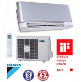 Climatiseur mural inverter daikin ftxg35js aluminium for Climatiseur inverter mural