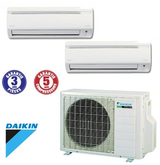 climatiseur mural inverter daikin 2mxs50h r versible 1 unit ftx25jv 1 unit ftx35jv aria. Black Bedroom Furniture Sets. Home Design Ideas
